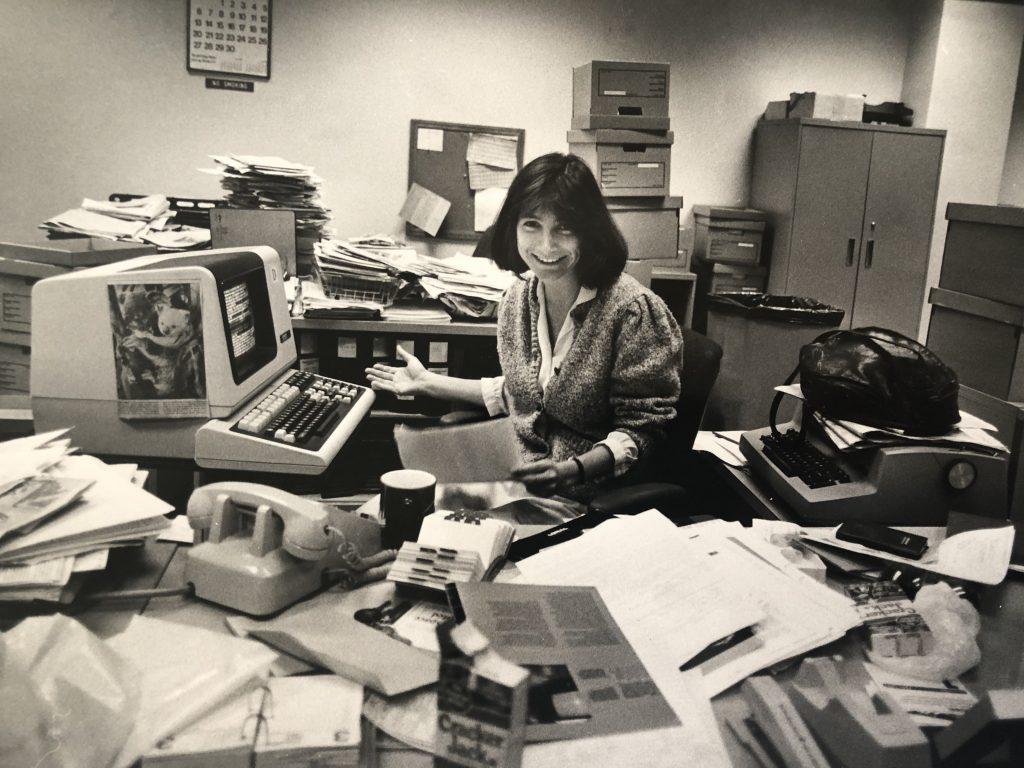 Katie Hafner San Diego Union 1985